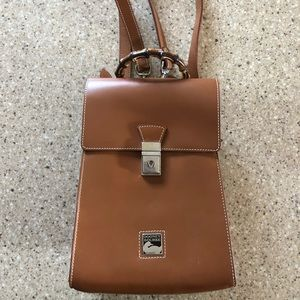 Vintage Dooney and Bourke Toiny Leather Backpack